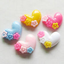 <b>Resin Heart Love</b> Cardmaking & Scrapbooking Buttons for sale | eBay