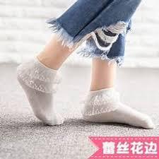 女孩的白色花边袜_女生穿白色花边袜_女生穿白色花边丝袜_花边袜 ...