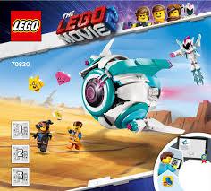 <b>LEGO 70830</b> Sweet Mayhem's Systar Starship! Instructions, The ...