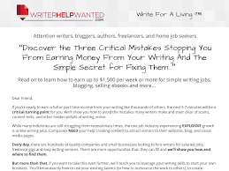 writer help wanted write for a living product summary writing jobs