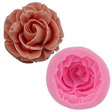 Mr.S Shop 3D Sweet Rose Flower Silicone Fondant ... - Amazon.com