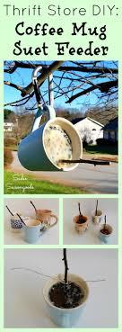 unique home decor melting create a cute and easy diy suet bird feeder by upcycling a coffee mug