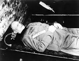 photo of sentencing from the nuremburg trials the of the while looking at alfred jodl s wiki i noticed his face
