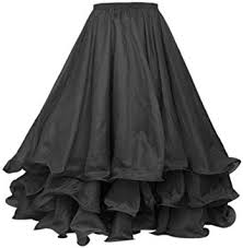 BellyLady Belly Dance Skirt Halloween Tribal Chiffon ... - Amazon.com