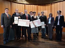 Gruppenbild Klick Award Landau Jens Stevens (2. v.l.) von der Agentur Stevens & Stevens, Maik Linn (4. v.l.) - pics_klick_landau_gruppenbild