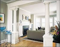 opening up house remodel project this will soon be the new opening between 2 living beautiful living room pillar