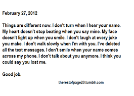 Long Break Up Quotes. QuotesGram