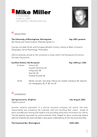 simple modern resume sample for job hunter shopgrat sample of resume sample of modern resume