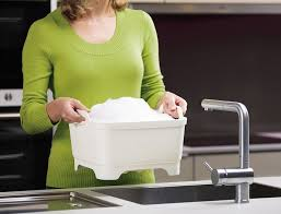 <b>Контейнер для мытья посуды</b> Joseph Joseph wash&drain зеленый