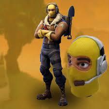 Raptor Pilot Skin Mask Game Battle Royale Cosplay latex mask ...