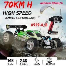 <b>WLtoys A959-A</b> 1:18 Drift RC Car 4WD 2.4GHz 50MPH High Speed ...