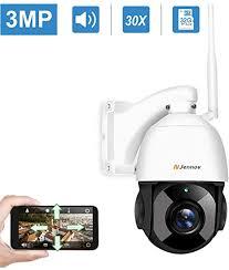 Jennov <b>3MP Wireless</b> Security Cameras Outdoor <b>PTZ Camera</b> ...