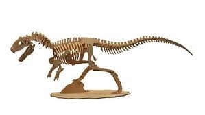 Allosaurus <b>Dinosaur 3D</b> Wooden Puzzle Toy | Kids <b>Wooden Toy</b> ...