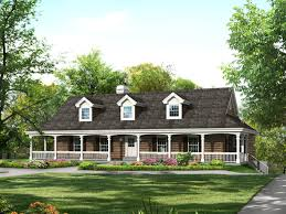 French Country Ranch Home Plans   So Replica HousesRanch House Plans With Porches