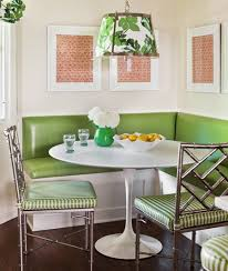 stylish and comfy dining room with banquette bench awesome dining room design with small white banquette dining room furniture