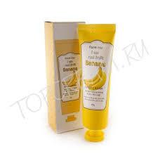 FARMSTAY <b>I am</b> Real Fruit Banana Hand Cream - <b>Крем для рук</b> с ...