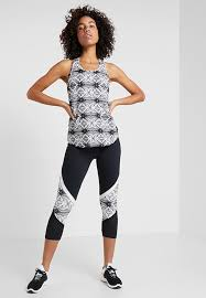 New Balance <b>RELENTLESS GRAPHIC HIGH</b> RISE - Leggings ...