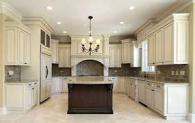 beautiful white kitchen cabinets: custom white kitchen design with tile back splash