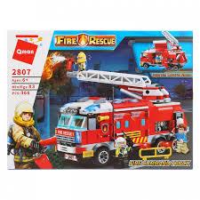 <b>Конструктор Enlighten Brick Пожарная</b> машина с фигурками (366 ...
