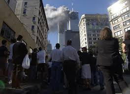 new york essay reliving instead of remembering sept  11 2001 file photo pedestrians in