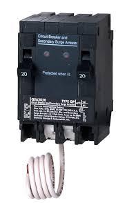 siemens qsa2020spd whole house surge protection two 20 amp the 20 amp qsa2020spd surge protection device view larger