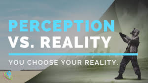 perception vs reality perception of reality by boruch akbosh perception vs reality perception of reality by boruch akbosh