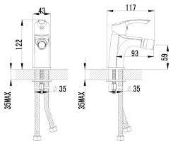 <b>Смеситель для биде Lemark</b> Plus Strike LM1108C однорычажный ...