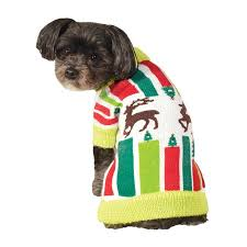 Rubie's Pet Shop <b>Ugly Christmas</b> Sweater For Pets <b>Knitted</b> Reindeer ...