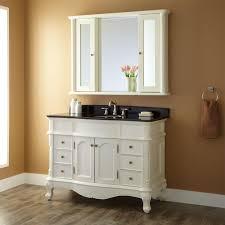 Bathroom White Vanities 48 Sedwick Creamy White Vanity Bathroom