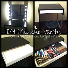 awesome vanity makeup table diy for interior designing home ideas with vanity makeup table diy awesome diy makeup
