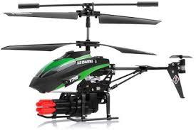 <b>Радиоуправляемый вертолет WLtoys</b> V398 с ракетной ...