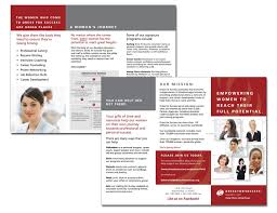 brochure for dress for success mae winton brochure for dress for success