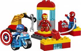 Купить <b>Конструктор Lego Duplo Super</b> Heroes Лаборатория ...