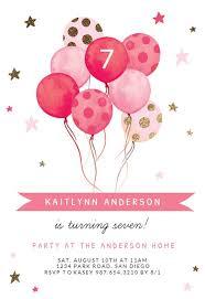 <b>Girls Birthday</b> Invitation Templates (Free) | Greetings Island