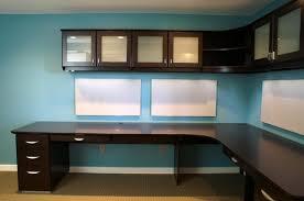 corner office cabinet excellent home design simple built in office desk plans