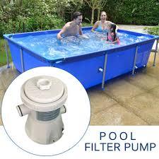 Electric Swimming Pool Filter Pump Kit Summer Outdoor Paddling ...