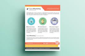 creative marketing flyer v18 flyer templates on creative market