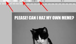 The Most Commonly Used Meme Font And A Tutorial How To Create A ... via Relatably.com