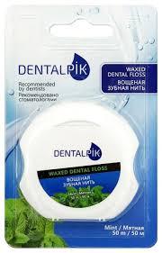<b>Dentalpik зубная нить</b> Мятная вощеная — купить по выгодной ...