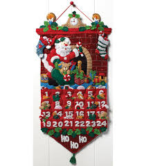 needle felting supplies felt applique kits jo ann must be santa advent calendar felt applique