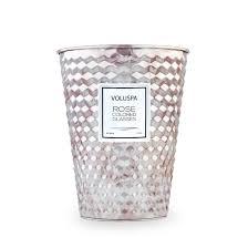 <b>ROSE COLORED</b> GLASSES Большая <b>свеча</b> в металлической ...