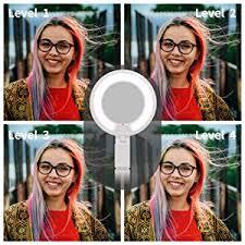 ZPHYF Selfie Light, 4-Level Brightness Selfie Ring ... - Amazon.com
