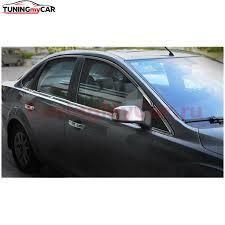 Тюнинг от TuningMyCar. <b>Хромированные молдинги</b> полные для ...