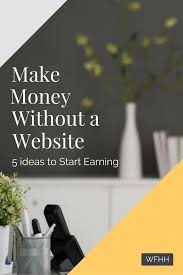 make money online out a website