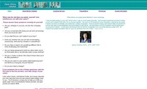 career choices unlimited website siskey productions portfolio career choices website before