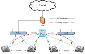 network configurations cx phone system supportssegregated voip network