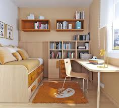 teenage room furniture. small teen bedroom design with orange colors foto image 01 teenage room furniture