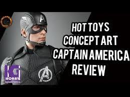 <b>Hot</b> Toys Concept Art Captain America Toy Fair Exclusive Review ...