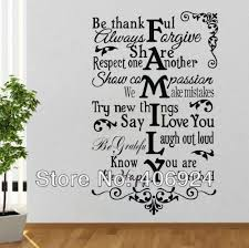 wall decal family art bedroom decor wall quote decals stickers decor living room kids room pvc art wall