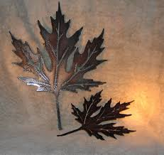 metal wall decor shop hobby: autumn leaves metal wall decor suitable for by frolicnfriends